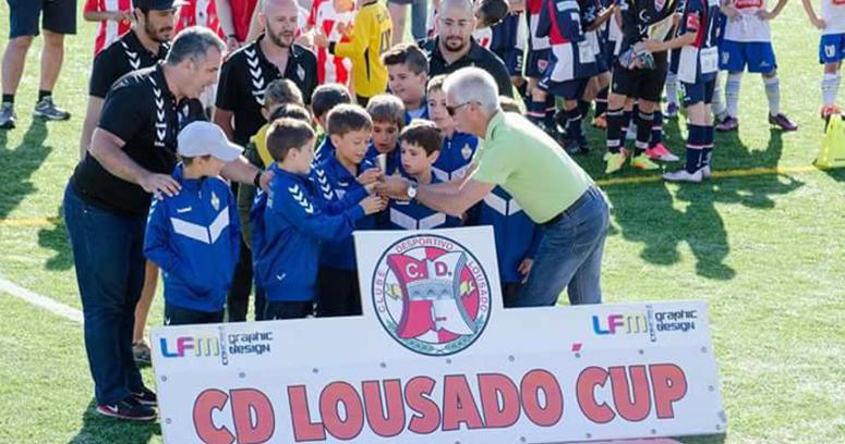 Traquinas conquistam 3º lugar na CD Lousado CUP