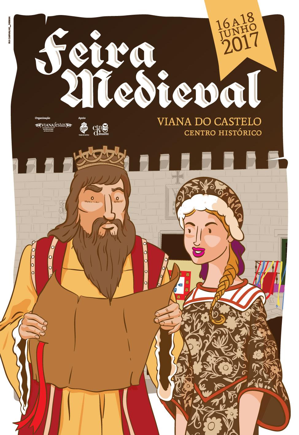 SC Vianense na Feira Medieval de Viana do Castelo