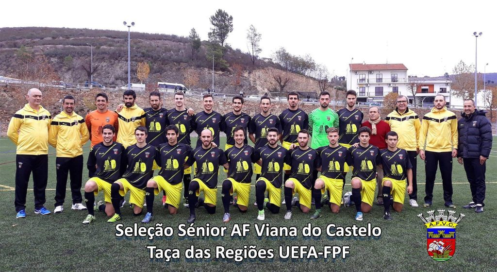 Seleção Distrital de Viana do Castelo apura-se para Fase Final Nacional da Taça das Regiões – FPF – UEFA