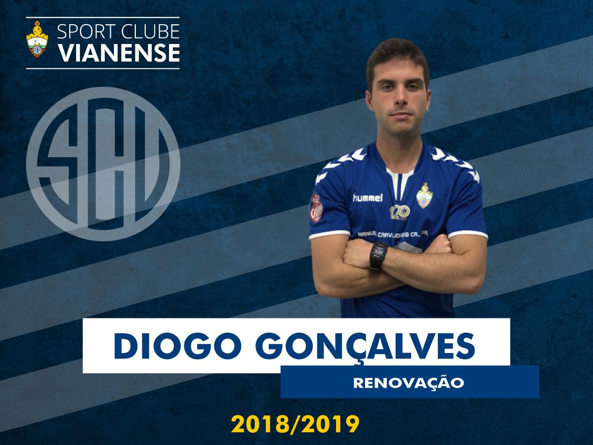 Diogo Gonçalves renovou!