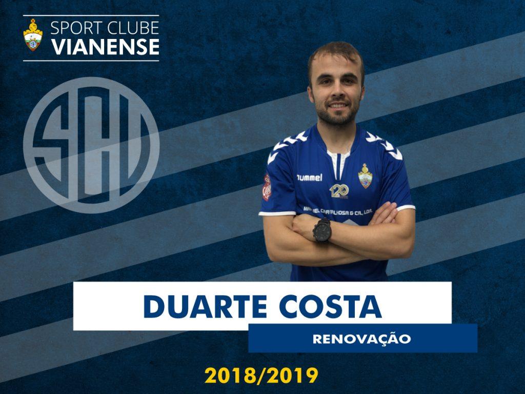 Duarte continua no SC Vianense