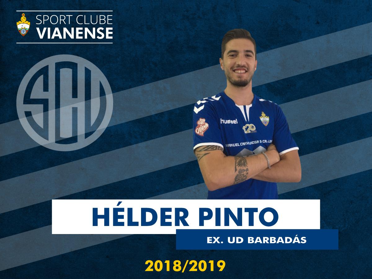 Hélder Pinto é jogador do SC Vianense!