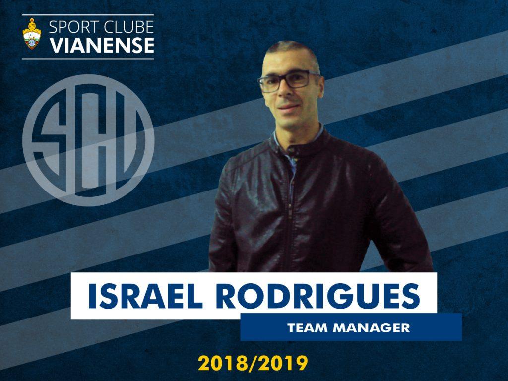 Israel será o Team Manager da equipa principal!
