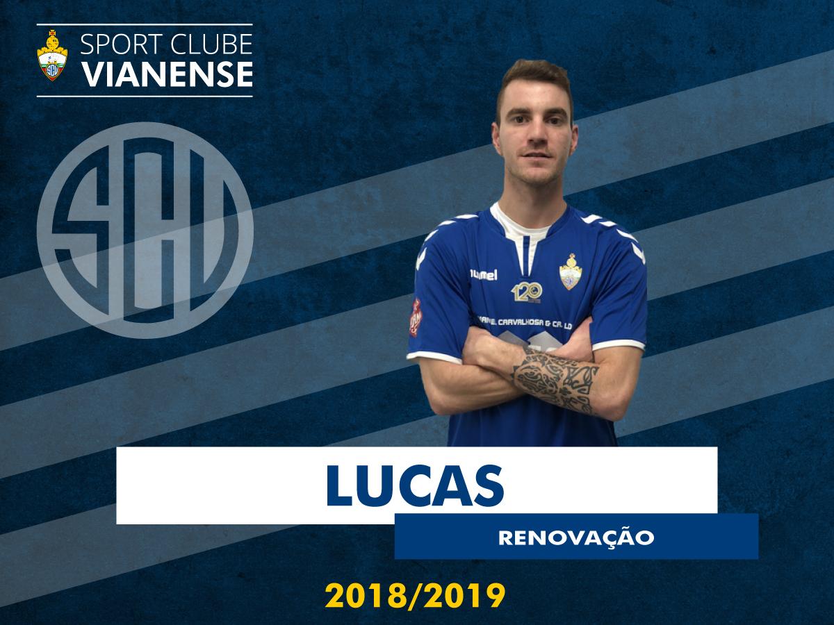Lucas renova com o SC Vianense!