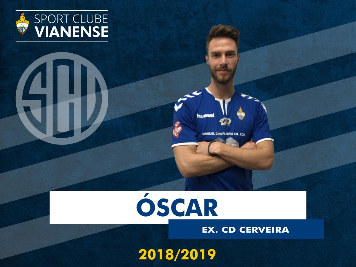 Óscar Sá (ex Cerveira) é reforço!