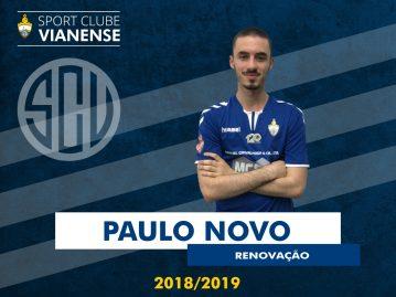 Paulo Novo em força para 2018/2019!