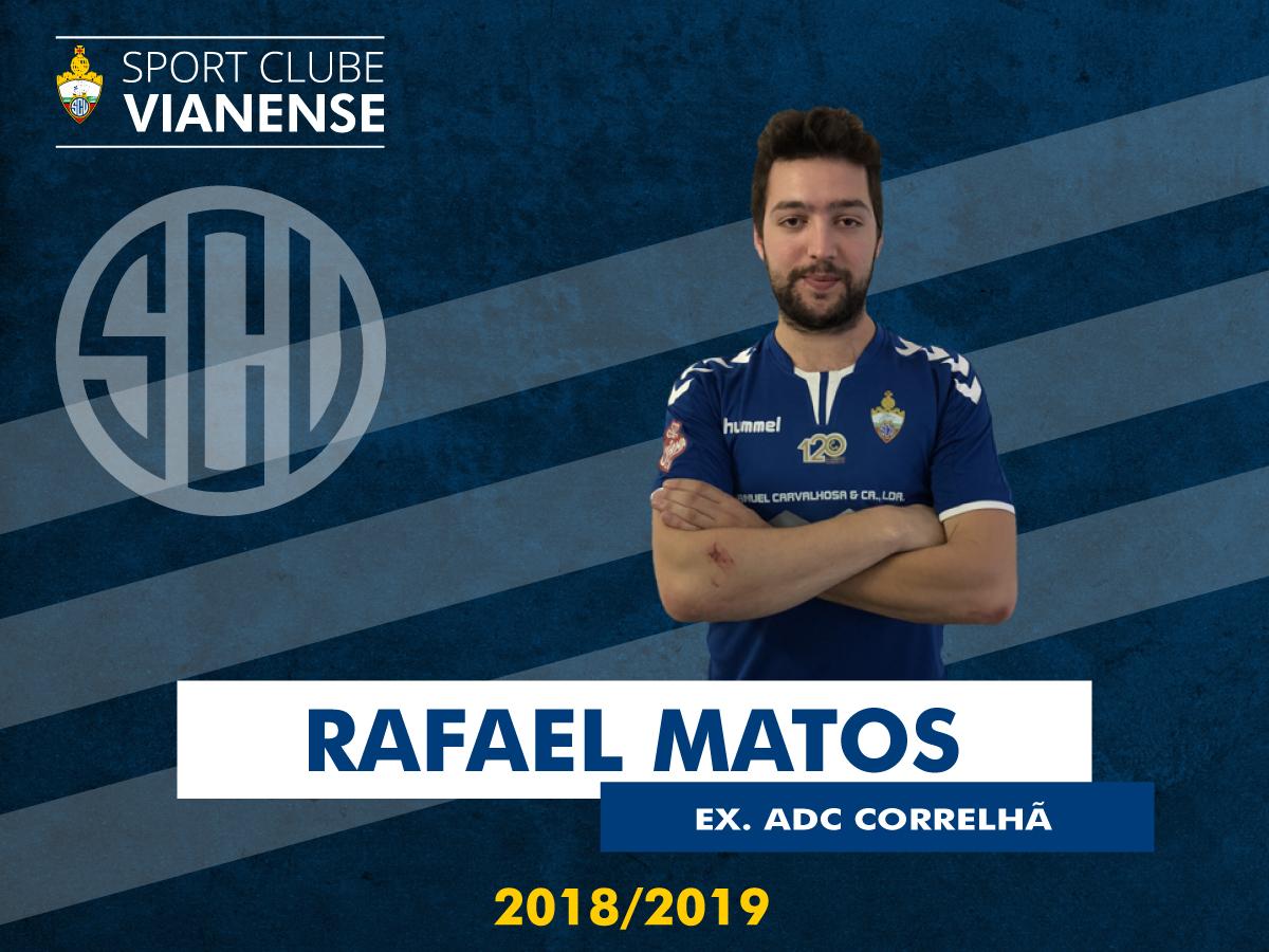 Rafael Matos assina pelo SC Vianense!