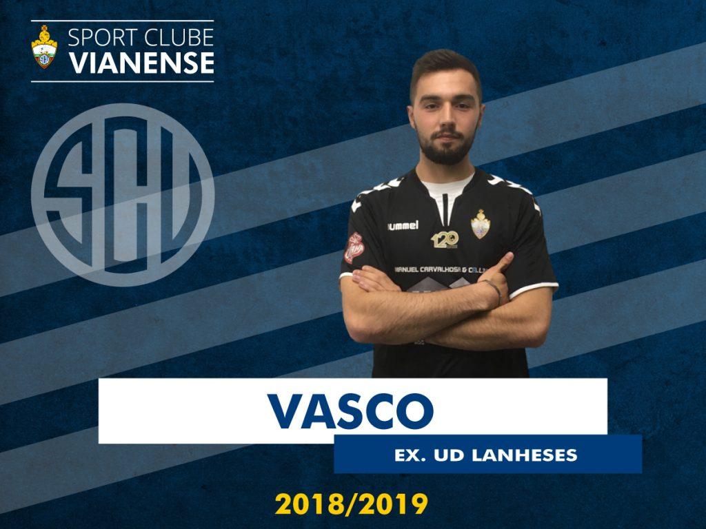 Vasco reforça a baliza do SC Vianense!