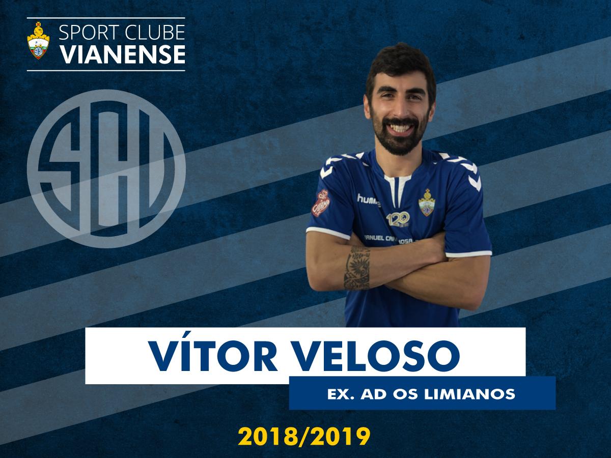 Vítor Veloso (Ex Limianos) é jogador do SC Vianense!