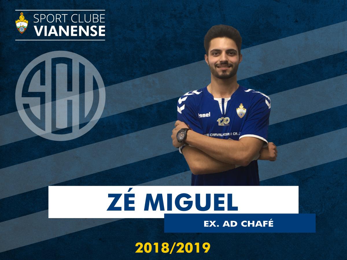 Zé Miguel no Vianense