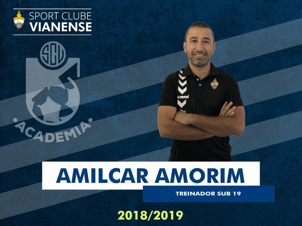 Sub19: Amílcar Amorim será o Treinador