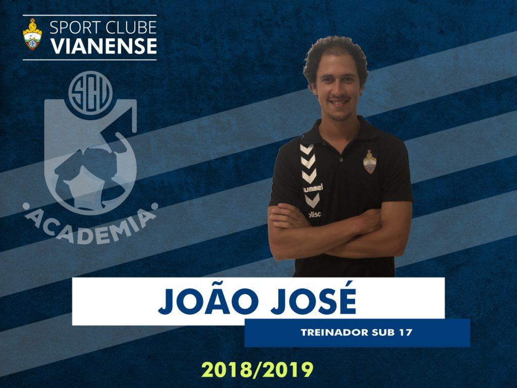 João José será o Treinador dos Sub17!