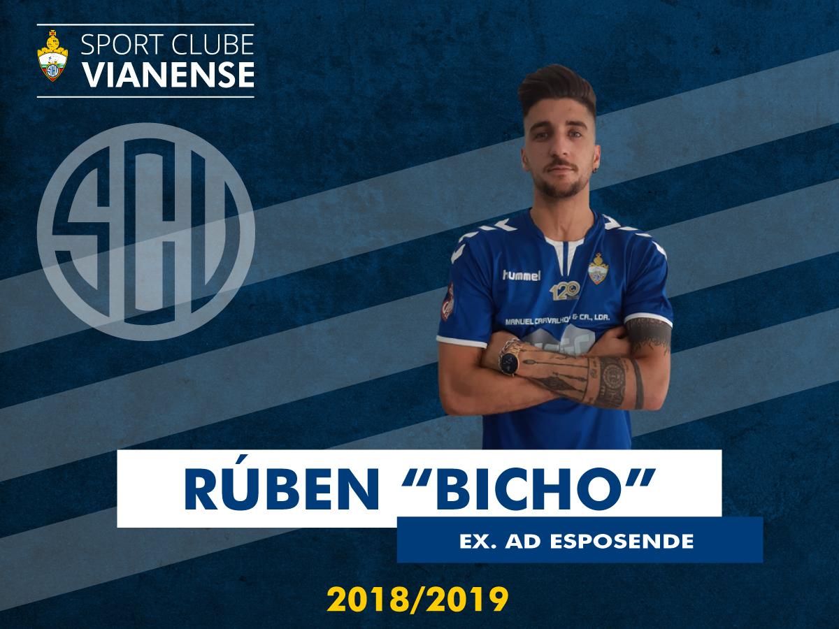 """Rúben """"Bicho"""" (ex Esposende) é reforço!"""