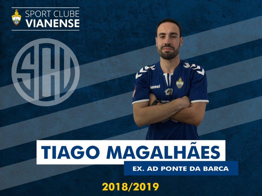 Tiago Magalhães regressa a casa!