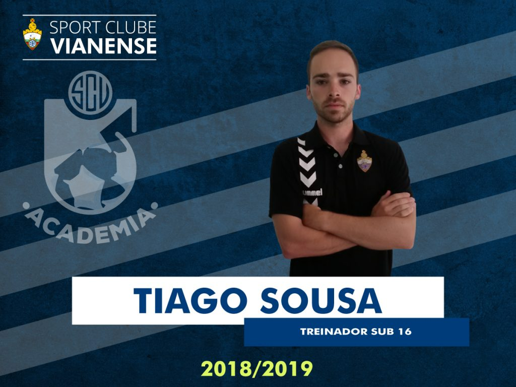 Tiago Sousa vai orientar os Sub16!