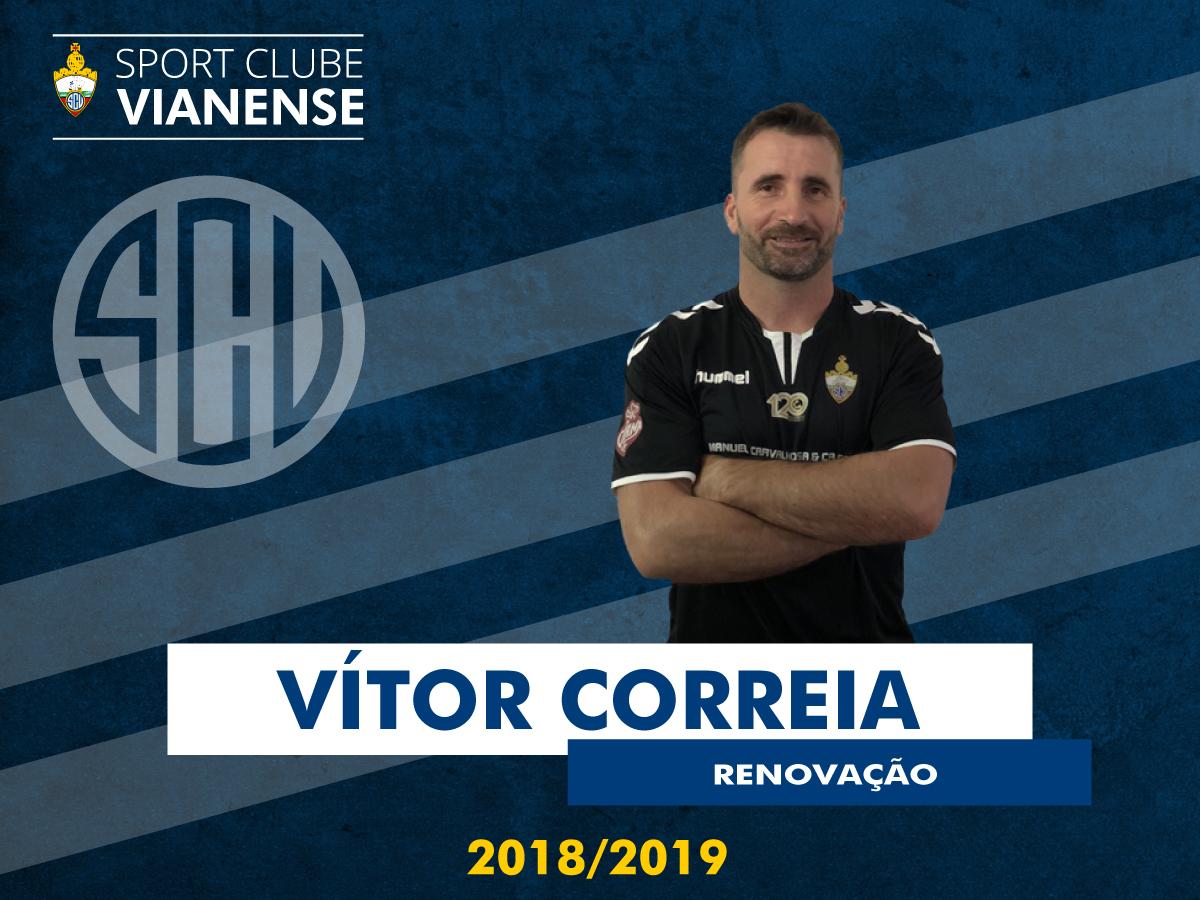 Vítor renova com o SC Vianense!