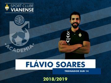 Flávio Soares será o responsável pela equipa Sub14!