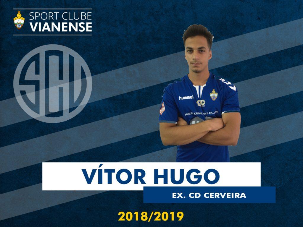 Vítor Hugo (ex Cerveira) assina pelo SC Vianense!