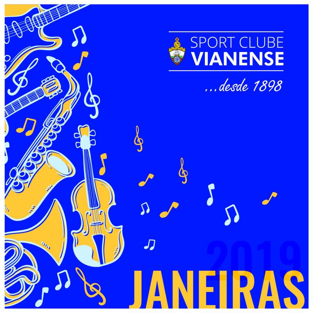Janeiras SC Vianense saem à rua!