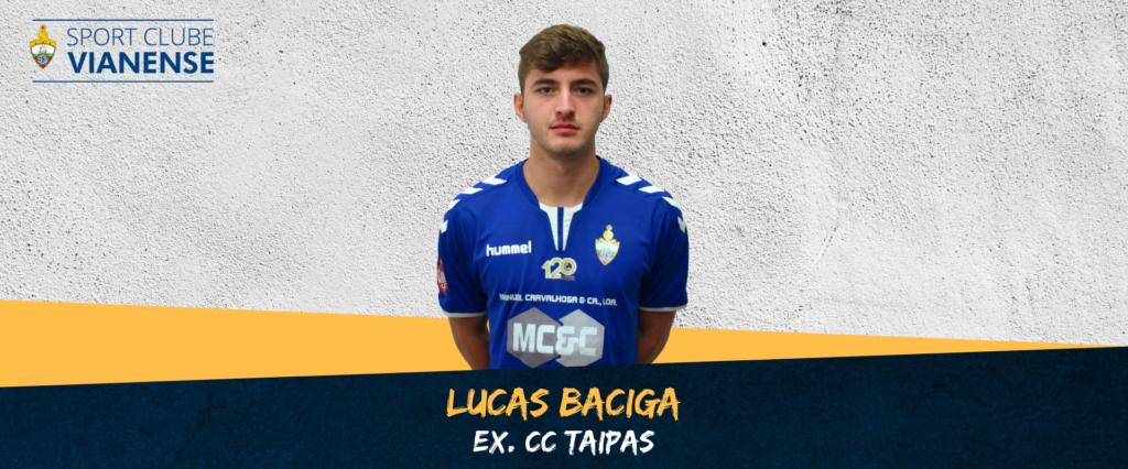 Lucas Baciga é jogador do SC Vianense!