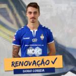Diogo Correia vai continuar de azul!