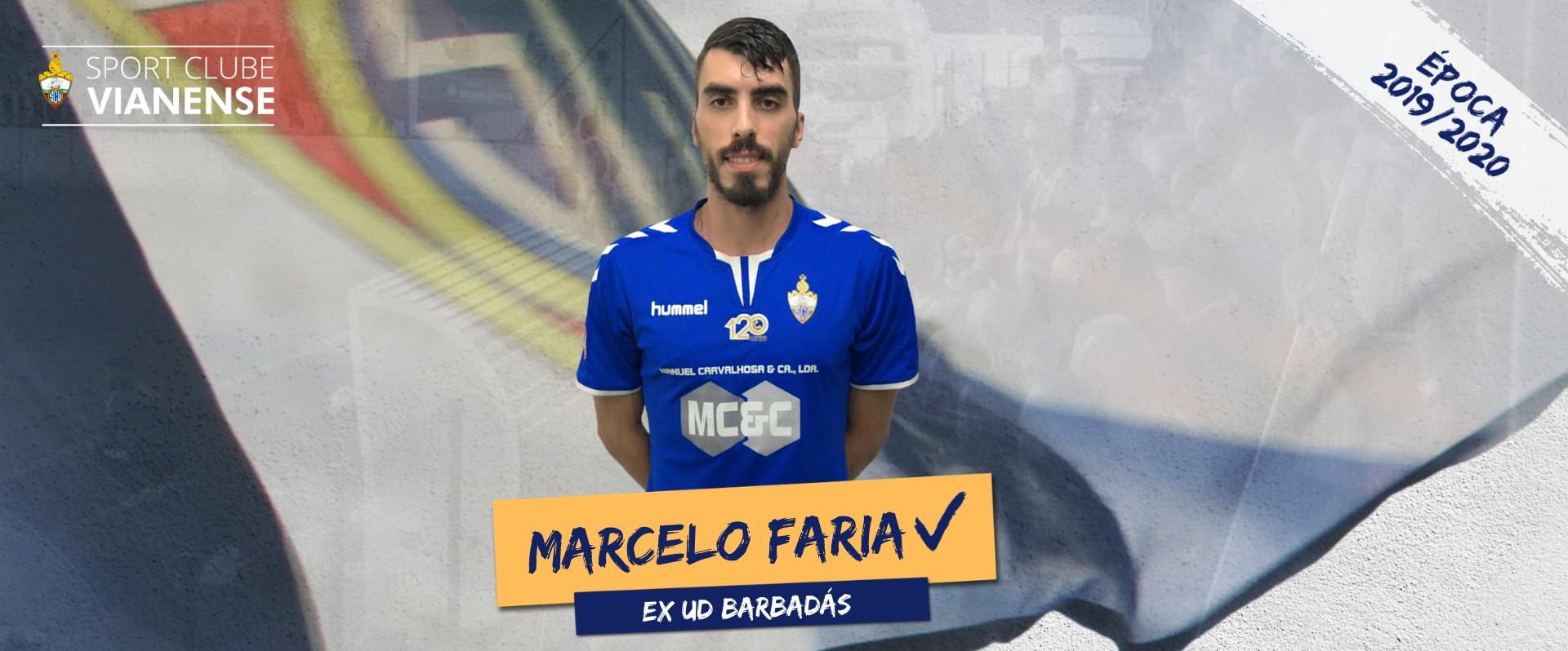 Marcelo é jogador do SC Vianense!