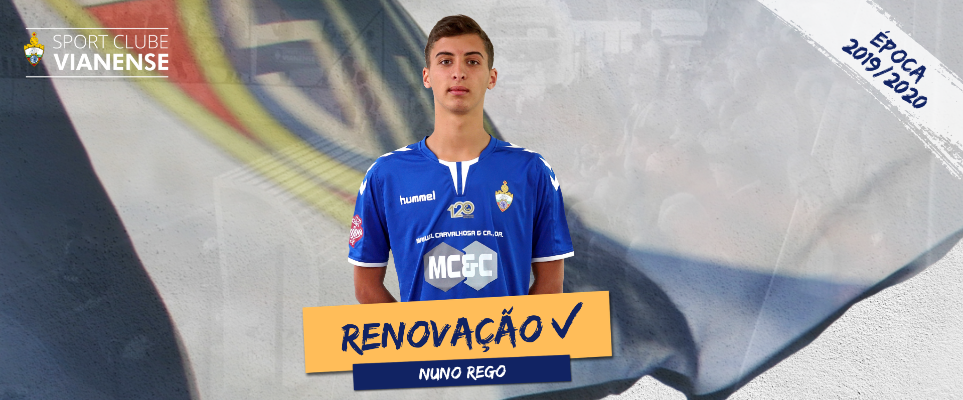 Nuno Rego continua!
