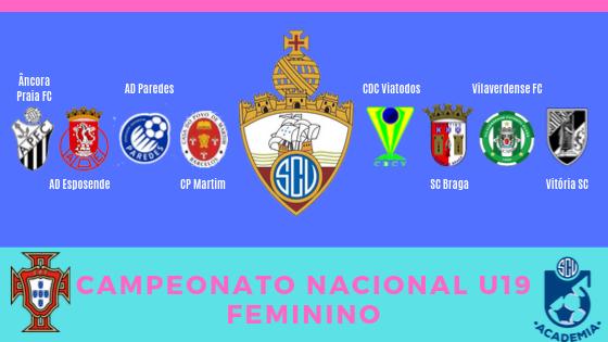 Futebol Feminino: SC Vianense inicia Campeonato Nacional a 12 de Outubro