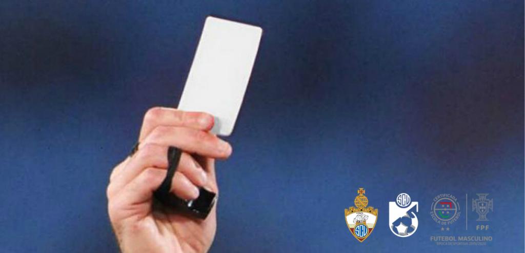 Técnico e Atleta do SC Vianense brindados com cartão branco!