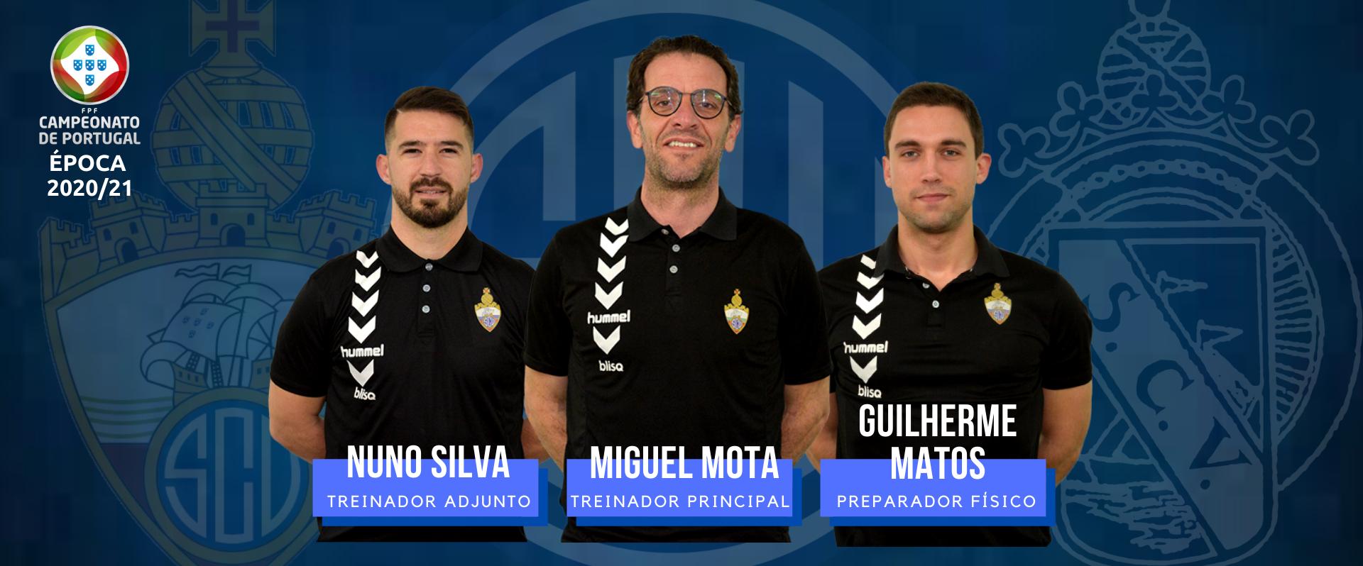 Equipa técnica renova com o SC Vianense!