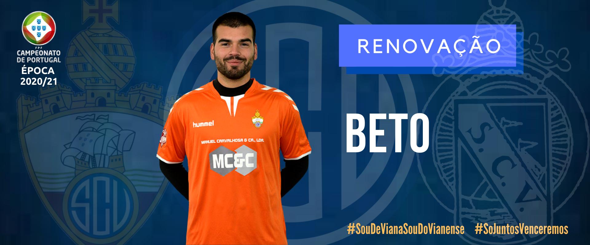 Beto continua no SC Vianense!