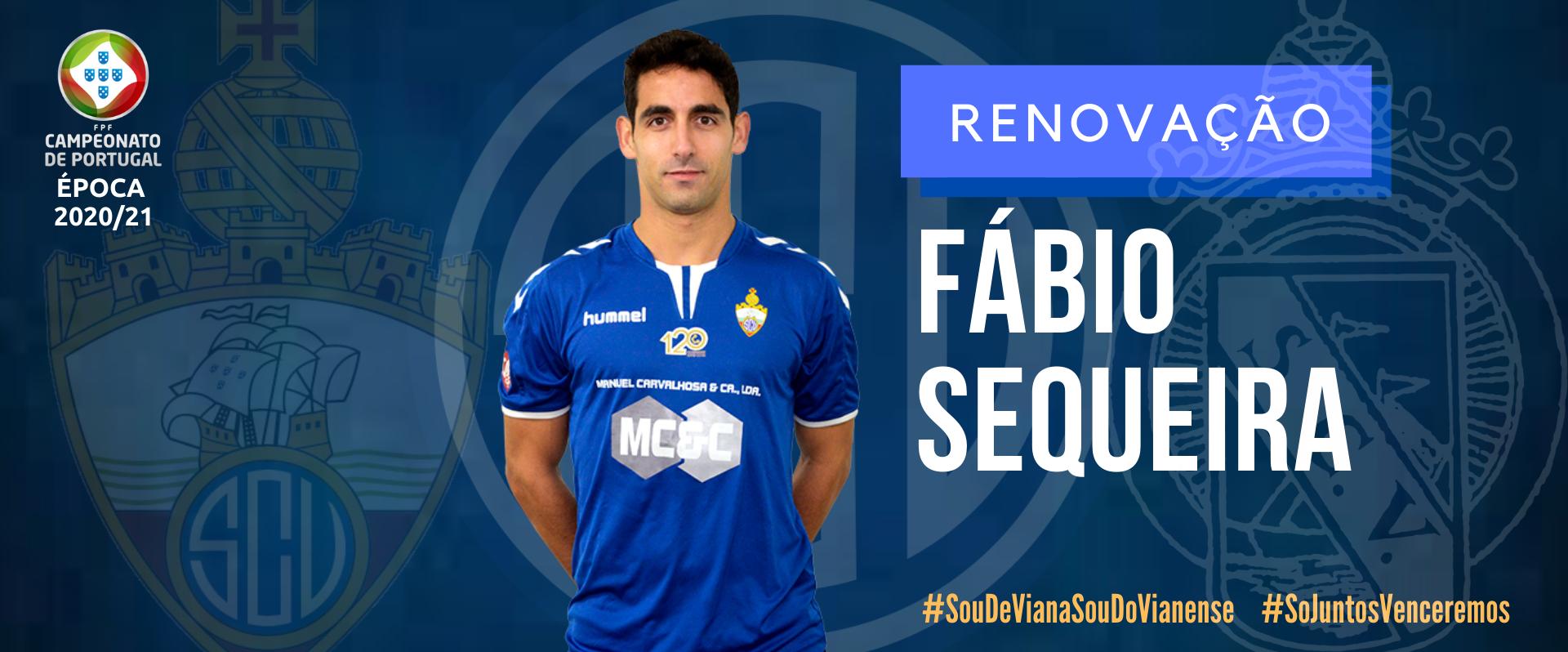 Fábio Sequeira continua no SC Vianense