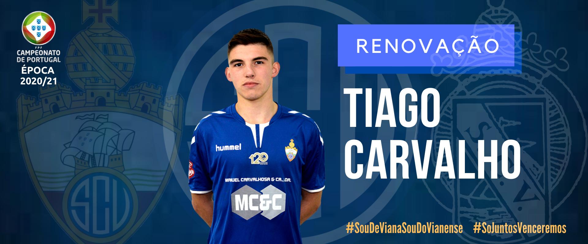 Tiago Carvalho renovou!
