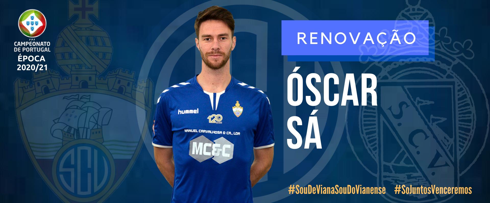 Óscar Sá garantido no SC Vianense 2020/21