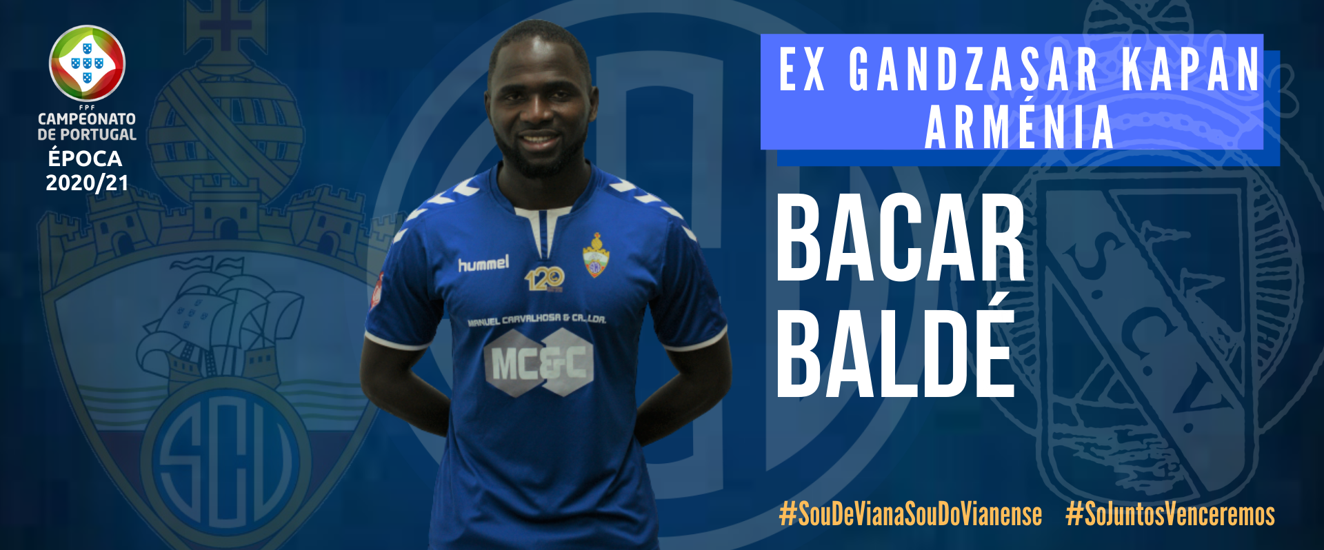 Bacar Baldé reforça SC Vianense