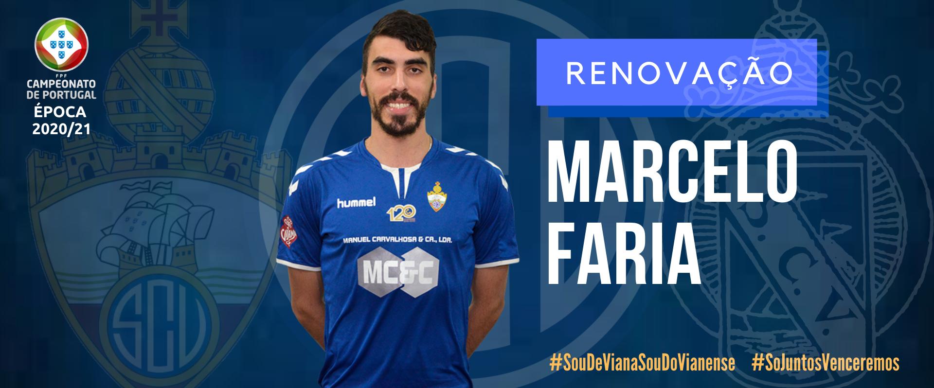 Marcelo Faria renovou!