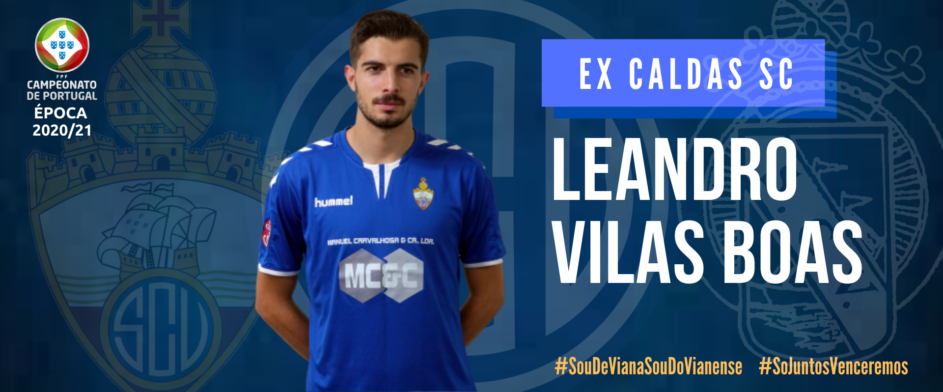 Leandro Vilas Boas regressa ao SC Vianense!