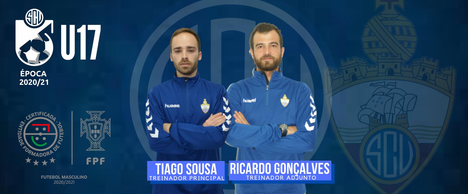 Tiago Sousa e Ricardo Gonçalves nos U17