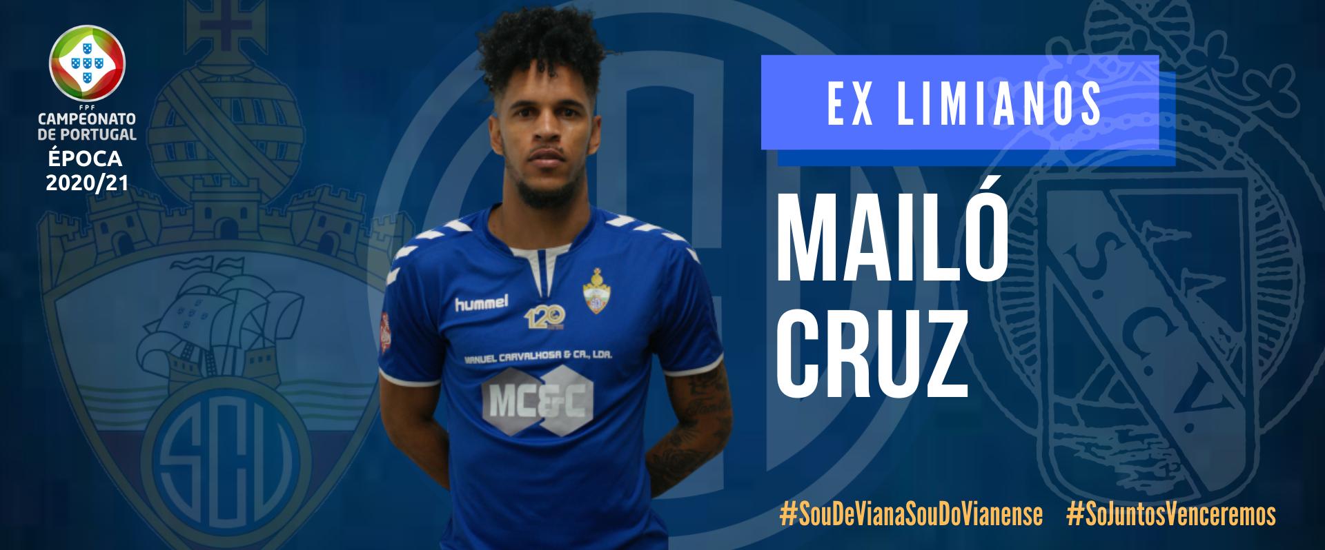 Mailó (ex-Limianos) reforça o ataque do SC Vianense!