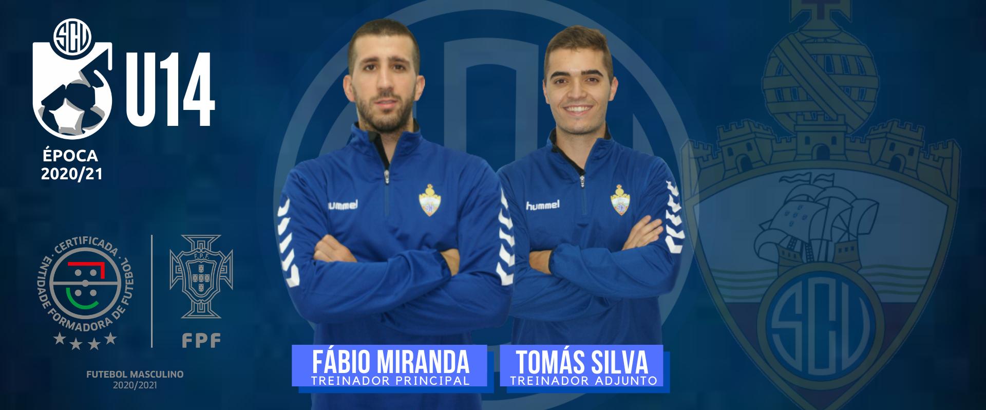 Fábio Miranda e Tomás Silva nos U14!
