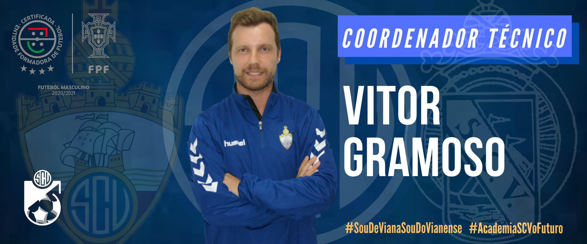 Vitor Gramoso é o novo Coordenador Técnico da Academia!