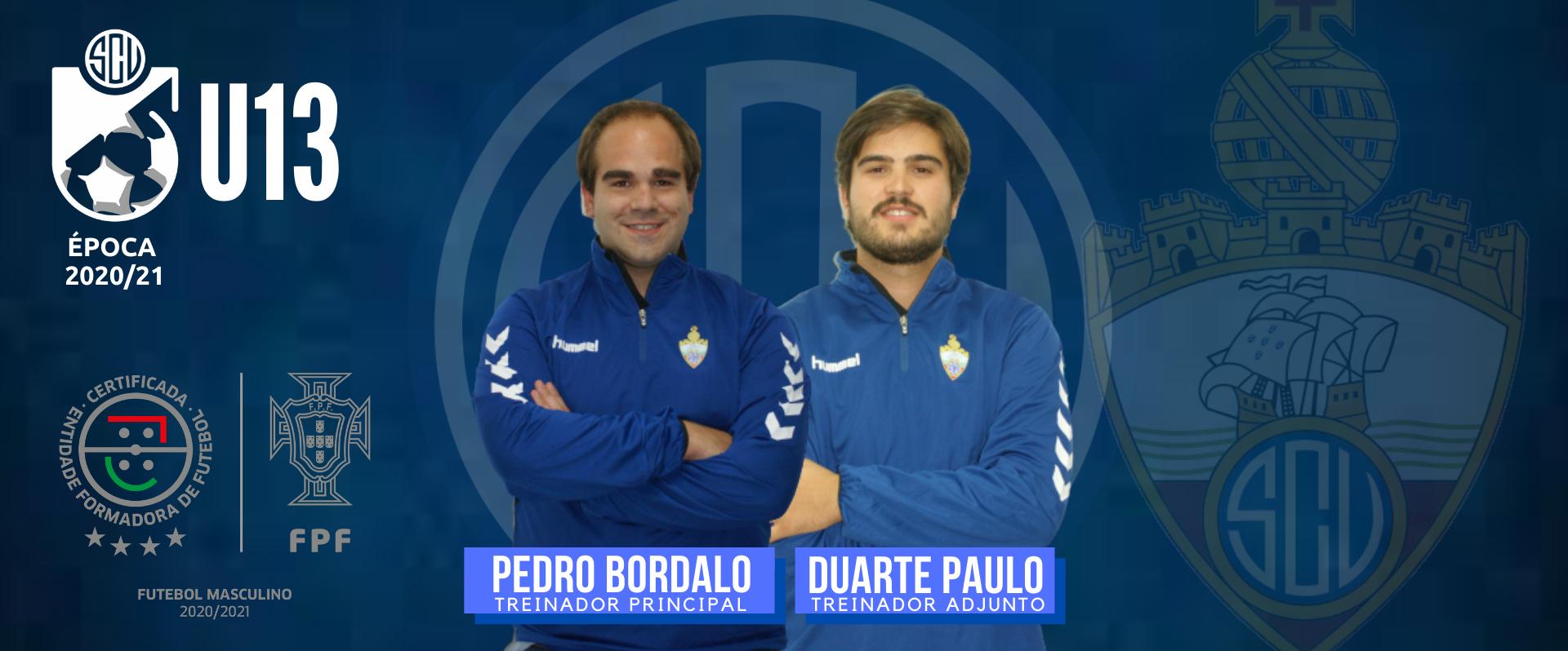 Pedro Bordalo e Duarte Paulo nos U13
