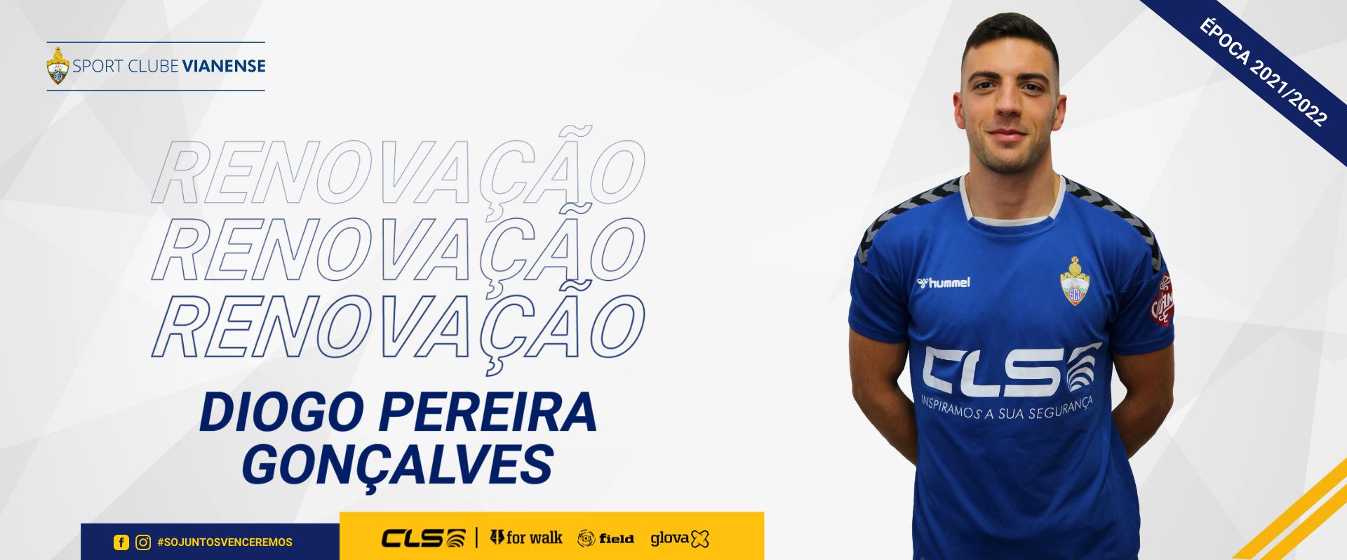 Diogo Pereira Gonçalves renova