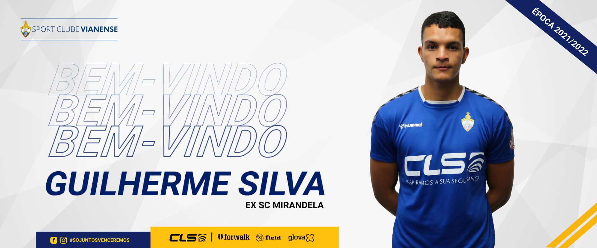 Guilherme Silva reforça a defesa do Vianense