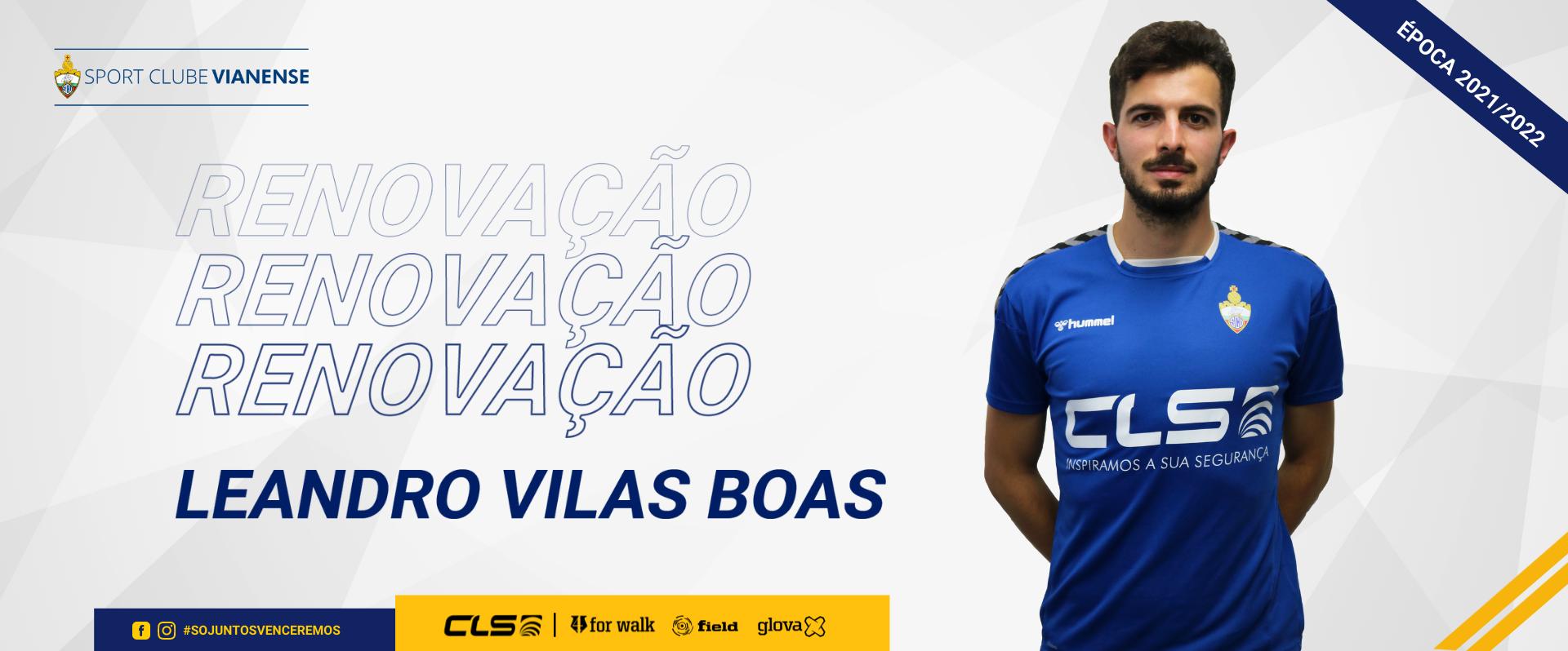 Leandro Vilas Boas renova contrato