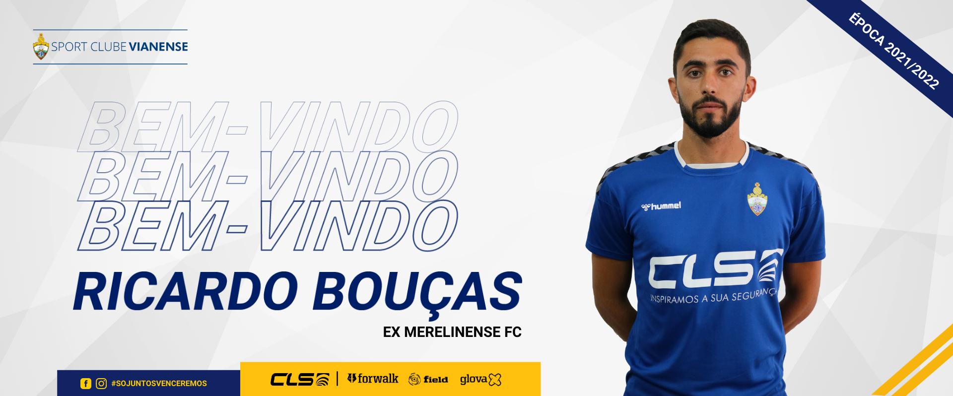 Ricardo Bouças está de volta