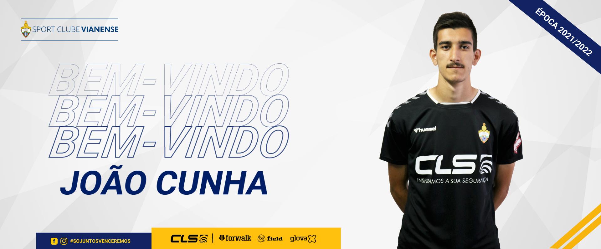 João Cunha reforça a baliza do Vianense
