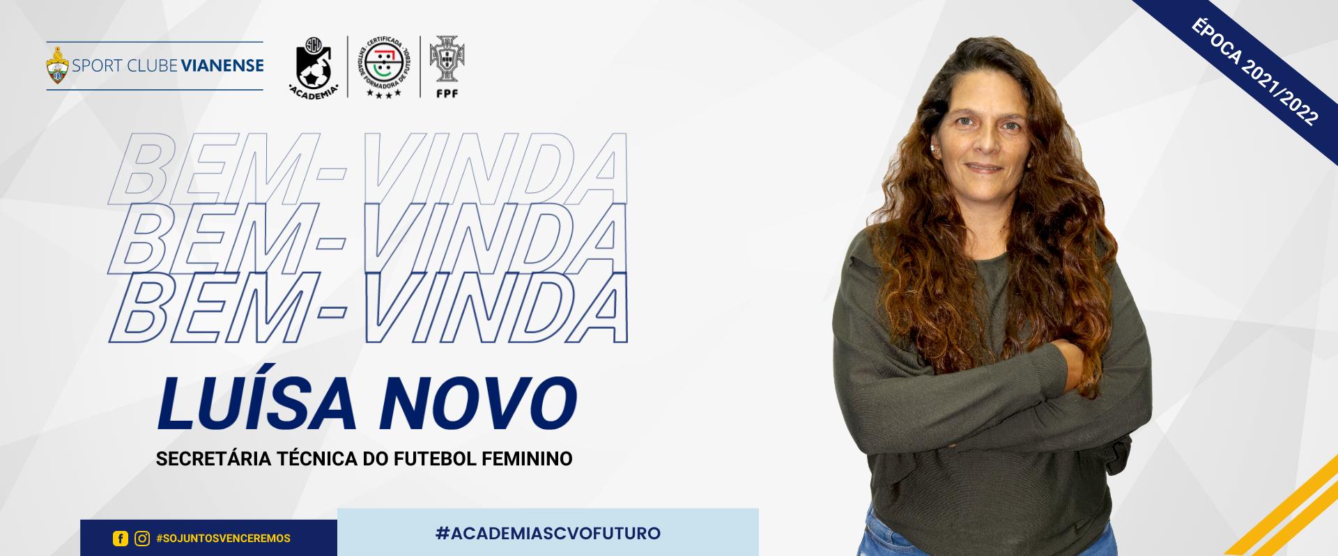 Luísa Novo reforça o futebol feminino